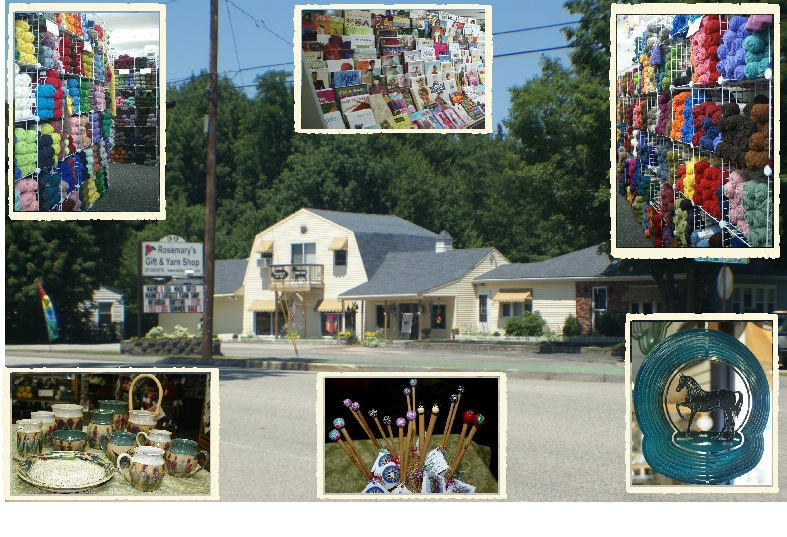Collage2 Rosemarys Gift & Yarn Shop