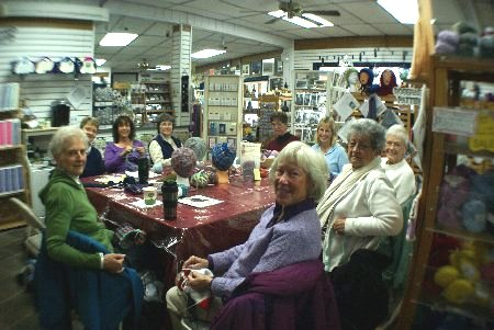 MorningClass2 Offering Open Knitting & Knit / Crochet Classes!