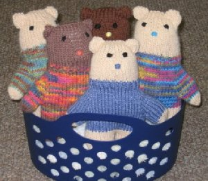 Teddy Bears in Basket April 2014 Newsletter