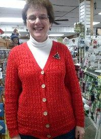 KathyVneckSweater