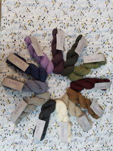 Colors of Davila yarn